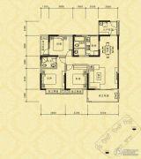长江国际社区巴塞罗那庄园3室2厅2卫111平方米户型图