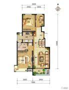 中国铁建・北京山语城3室2厅1卫97平方米户型图