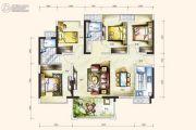 卓越蔚蓝岸4室2厅2卫0平方米户型图
