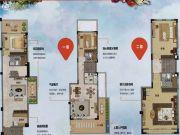 万科山景城5室2厅3卫0平方米户型图