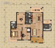 富恒・金鹏嘉苑二期2室2厅1卫85平方米户型图