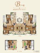 恒大帝景(备案名:聚亨景园)4室2厅3卫183--186平方米户型图