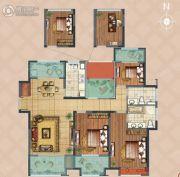 弘阳上湖3室2厅2卫138平方米户型图