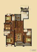 海峡城3室2厅2卫188平方米户型图