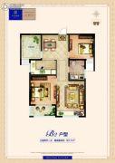 卓悦城・北京未3室2厅1卫93平方米户型图