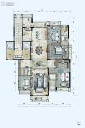 星河湾半岛4室2厅4卫314平方米户型图