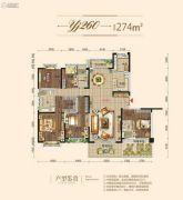 碧桂园・梓山府5室2厅3卫274平方米户型图