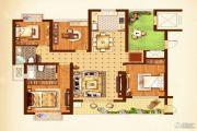 荣记玖珑湾4室2厅2卫143平方米户型图