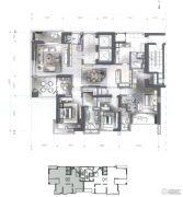 星汇御府5室2厅5卫335平方米户型图