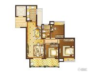 复地宴南都3室2厅1卫105平方米户型图