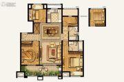 湾上风华4室2厅2卫126平方米户型图