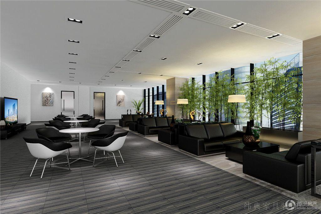 中铁诺德国际中心 售楼处效果图