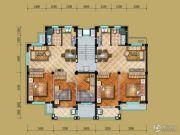 茗桂华庭2室2厅1卫78--89平方米户型图