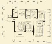 方直东岸3室2厅2卫141--149平方米户型图