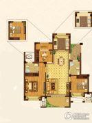 祥生・南山郡3室2厅2卫96平方米户型图