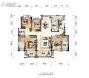 九宾・湿地4室2厅3卫130平方米户型图