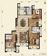 保利春天里4室2厅3卫153平方米户型图