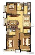 龙湖春江紫宸3室2厅2卫109平方米户型图