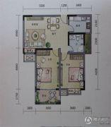 丽丰一品・泊景湾2室2厅1卫89平方米户型图