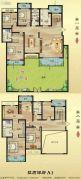 建业桂园5室2厅4卫298--302平方米户型图