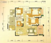 金城大厦4室2厅2卫110--150平方米户型图