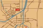 翰林世家交通图