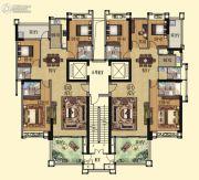 壹品湾4室2厅3卫152--164平方米户型图