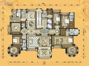 铂雅苑5室2厅5卫664平方米户型图