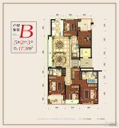 滨江铂金海岸5室2厅3卫0平方米户型图