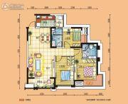 碧桂园・南城首府3室2厅2卫115平方米户型图
