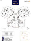 奥园文化旅游城 韶关印象岭南3室2厅2卫109平方米户型图
