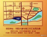 汀兰华府交通图