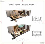 东二环泰禾广场2期2室1厅1卫60平方米户型图