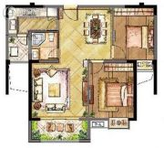 长宏国际城2室2厅1卫0平方米户型图
