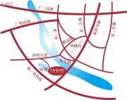 中旅银湾花园交通图