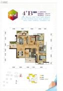长业・天江城3室2厅2卫91--108平方米户型图