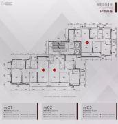 保利大都会4室2厅2卫147--148平方米户型图