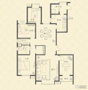 天时名苑4室2厅2卫193平方米户型图