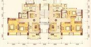 澳华新城3室2厅2卫97平方米户型图