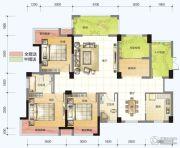 春风紫金港3室2厅2卫119平方米户型图