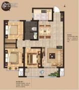 荣安・昭阳小镇3室2厅1卫120平方米户型图