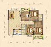 凯旋国际4室2厅2卫159平方米户型图