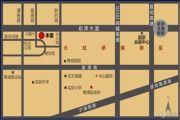 美瑞清河湾广场交通图