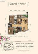 天元・美居乐3室2厅2卫85平方米户型图