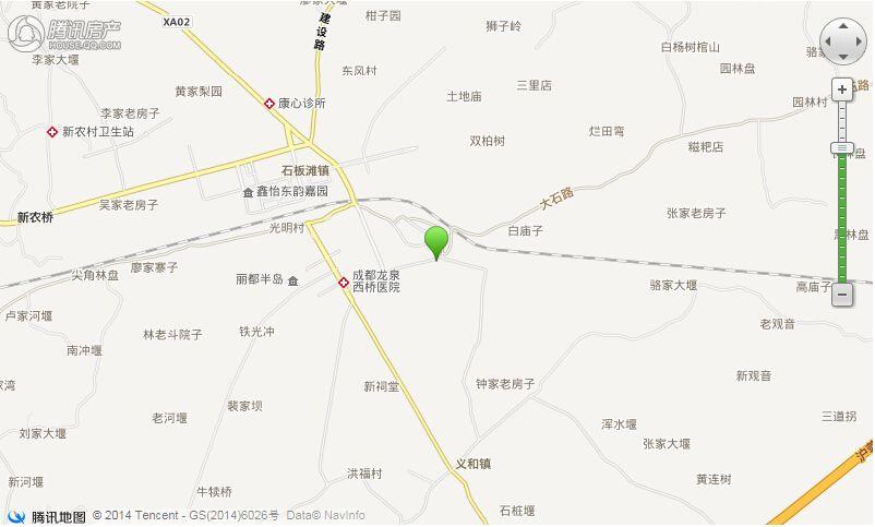 项目电子交通区位图