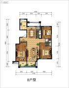 丁香花园玉泉苑3室2厅2卫157平方米户型图