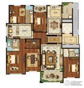 瀛海19城5室3厅3卫259平方米户型图