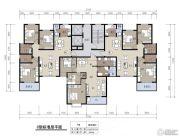 随州锦绣大地3室2厅1卫109--126平方米户型图