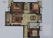 东海海悦府3室2厅1卫0平方米户型图
