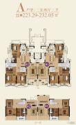 恒大帝景(备案名:聚亨景园)3室2厅3卫223--232平方米户型图